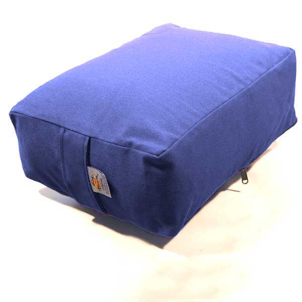 "Rectangular Meditation Cushion 5"" Large Replacement Cover"