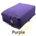 "Rectangular Meditation Cushion 5"" Large - RKD"